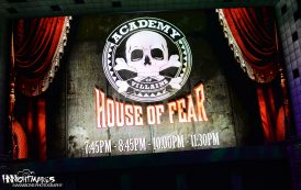 Academy of Villains: House of Fear at #HHN26
