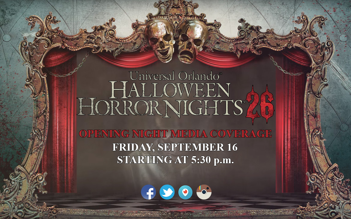 Let the Horror begin at #HHN26!