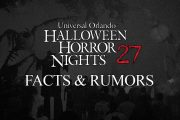 HHN 27.. Facts & Rumors