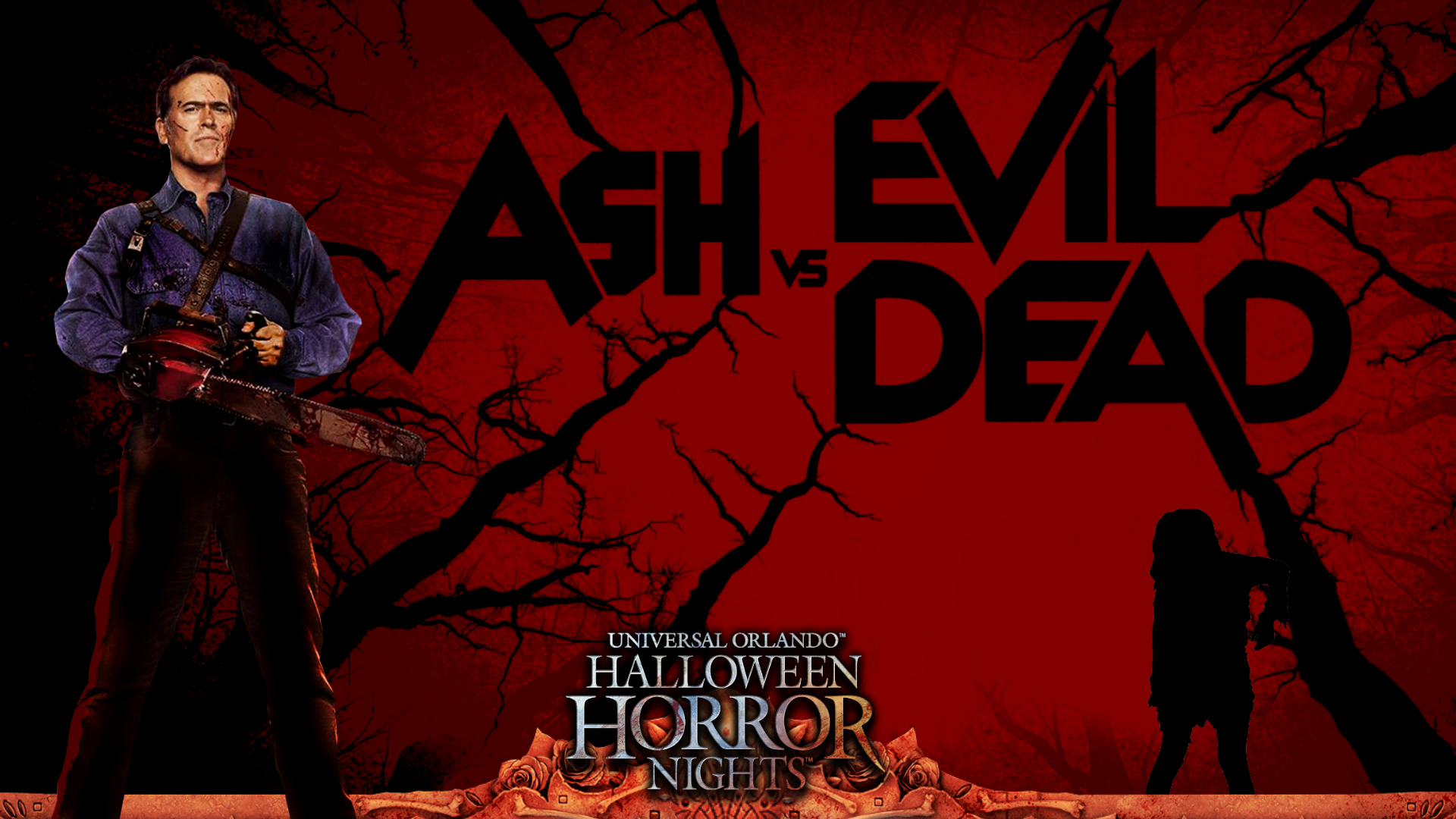 Ash vs Evil Dead Wallpaper 2 | Horror Night Nightmares