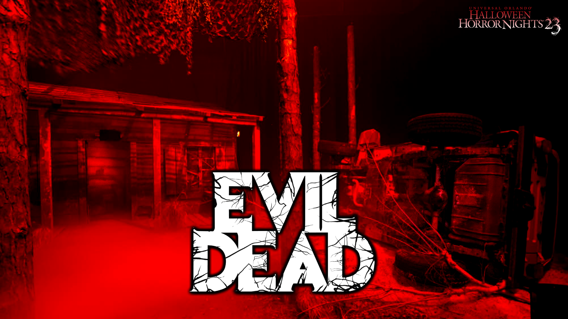 HHN 23 Evil Dead Wallpaper 2 | Horror Night Nightmares