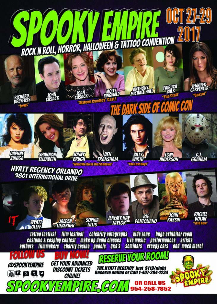 Spooky Empire 2017 Flyer