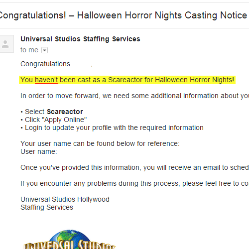 HHN Hollywood 2015 Audition and Discussion - Page 5