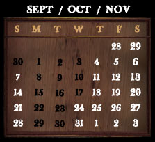 HHN XVII Event Dates | 2007