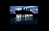Ship of Screams Logo | HHN 13 2003