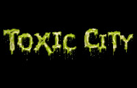 Toxic City Logo | HHN 13 2003