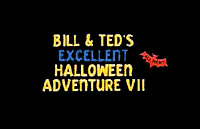Bill & Ted's Excellent Halloween Adventure Logo | HHN VIII 1998