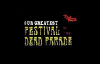 Festival of the Dead Parade Logo | HHN VIII 1998