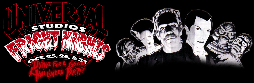 Fright Nights Logo | 1991