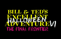 Bill & Ted's Excellent Halloween Adventure Logo | HHN VII 1997