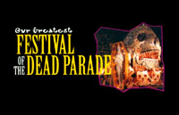Festival of the Dead Parade Logo | HHN VII 1997