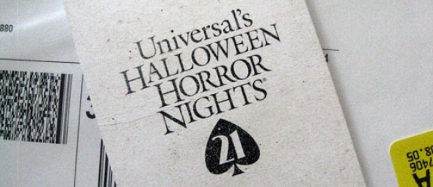 HHN 21 Media Hype Begins! It's in the Cards...