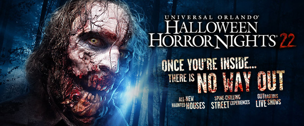 Halloween Horror Nights 22: There Is No Escape