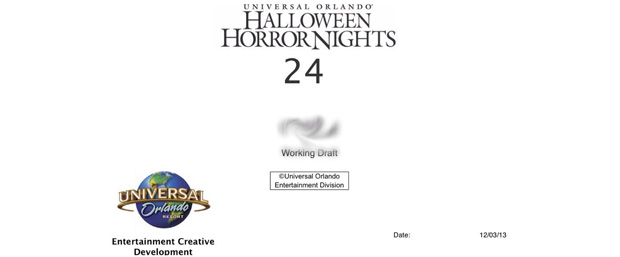 HHN 24... Cover Page for Maze 1