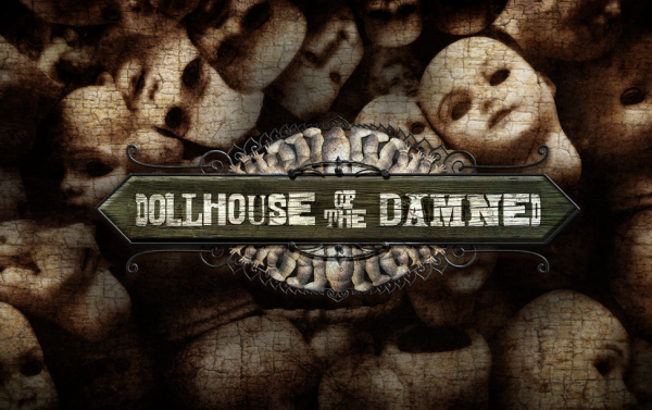 Dollhouse of the Damned Logo | HHN 24 2014