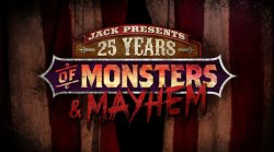 25 Years of Monsters & Mayhem Logo | HHN 25 2015