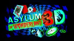 Asylum in Wonderland Logo | HHN 25 2015