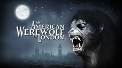 American Werewolf in London Logo | HHN 25 2015