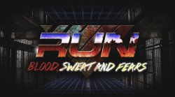 RUN: Blood, Sweat and Fears Logo | HHN 25 2015