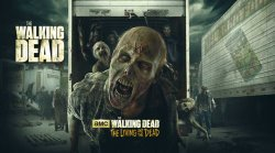Walking Dead: Living & Dead Logo | HHN 25 2015