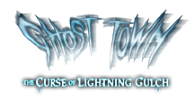 Ghost Town: Curse of Lightning Gulch Logo | HHN 26 2016