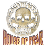 Academy of Villains: House of Fear Logo | HHN 26 2016