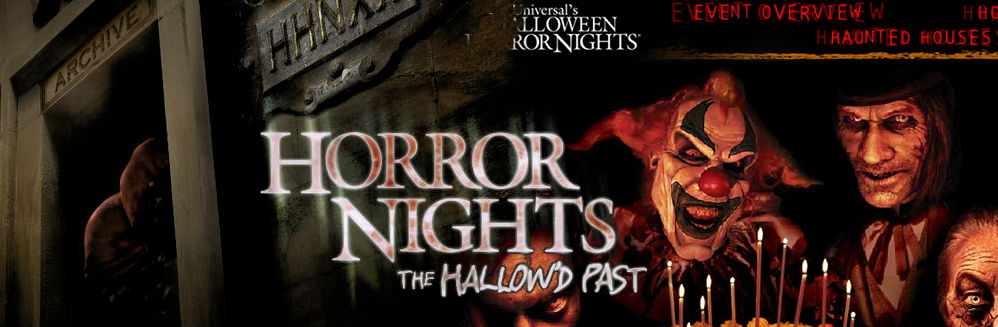 Hallow'd Past: Past HHN Websites