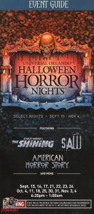 Halloween Horror Nights 27 (2017) Event Guide - 1AM