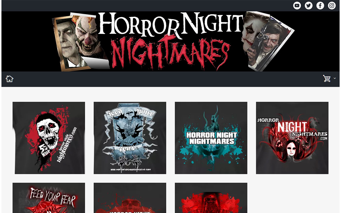 Nightmares Spreadshirt Shop