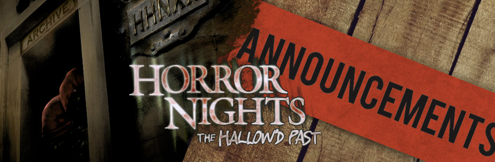 HHN Announcements List
