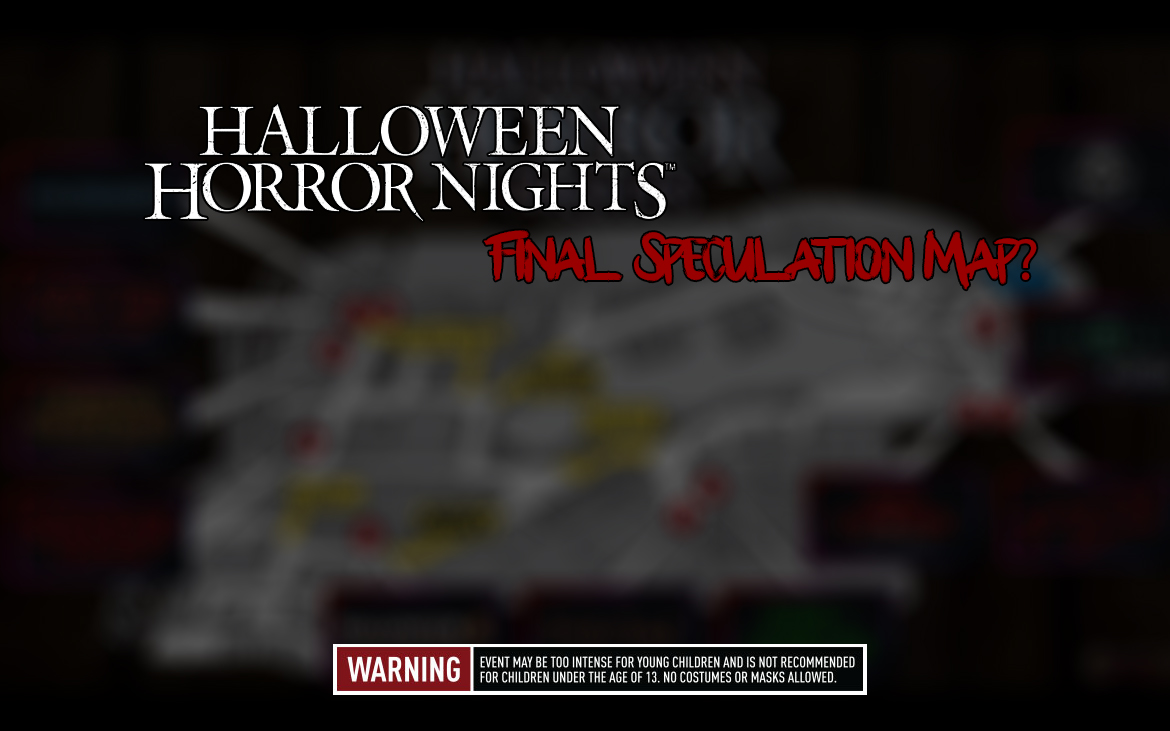 The FINAL HHN 28 Speculation Map?