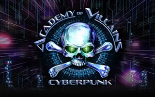 Academy of Villains: Cyberpunk Logo | HHN 28 2018