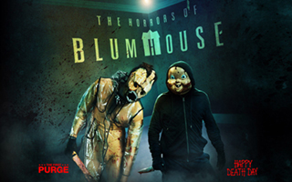 Horrors of Blumhouse 2 Logo | HHN 28 2018