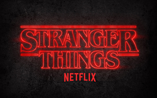 Stranger Things Logo | HHN 28 2018