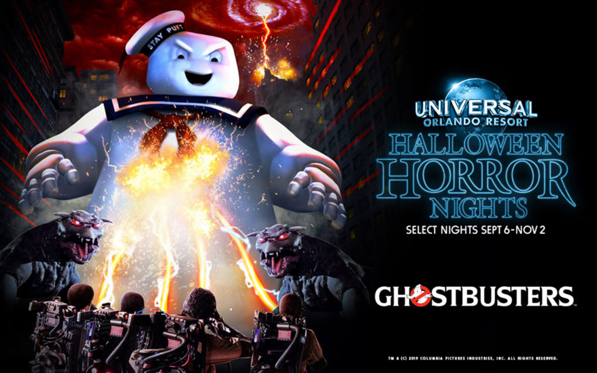 Ghostbusters coming to Halloween Horror Nights 29